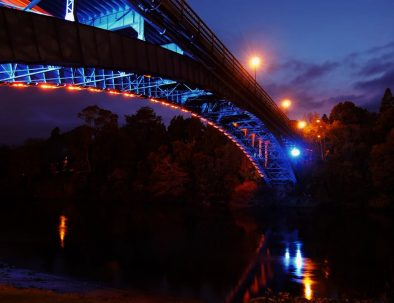 Victoria bridge in hamilton